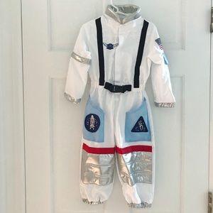 Pottery Barn Kids Astronaut Costume + treat bag